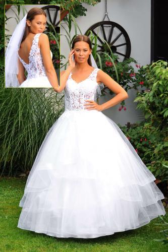Svatební šaty 389