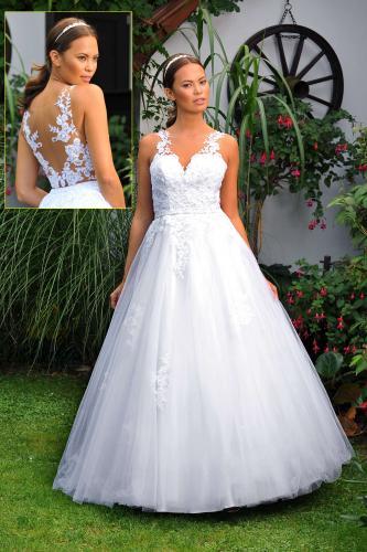 Svatební šaty 390