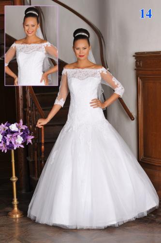 Svatební šaty - 125