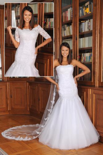 Svatební šaty 301 - 1