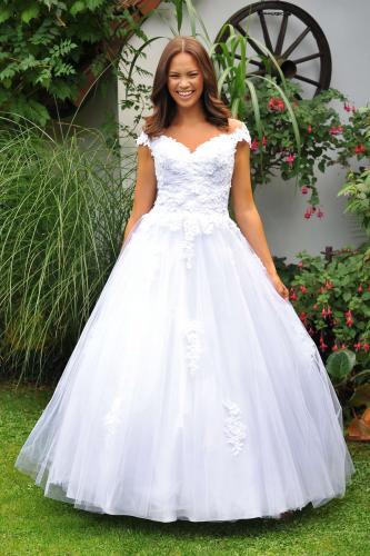 Svatební šaty 385